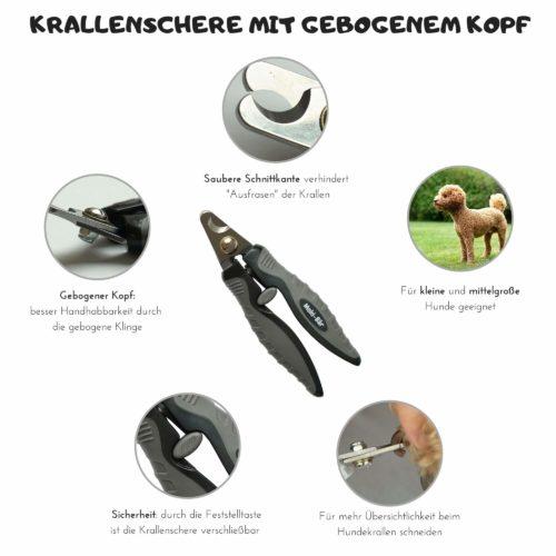 Krallenschere für kleine und mittelgroße Hunde